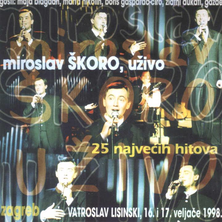 Miroslav Škoro, uživo