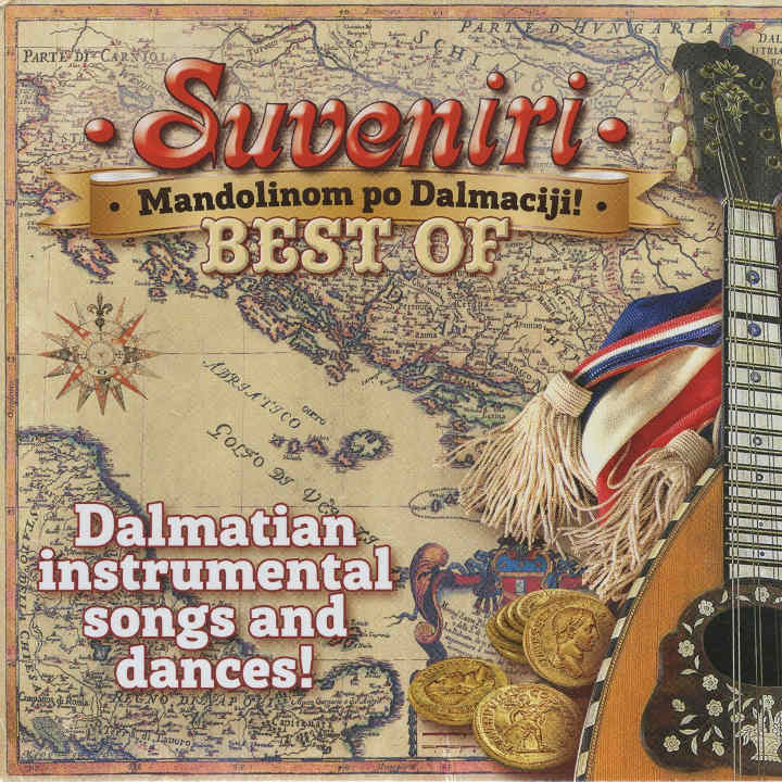Suveniri - Best of! Mandolinom po Dalmaciji